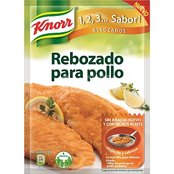 Knorr Sazonador Rebozado Pechugas 1,2,3...Sabor! 100g