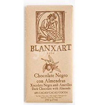Blanxart Chocolate 60%CACAO+ALM 200 G