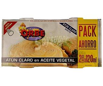 Orbe Bipack Atún Claro En Aceite Vegetal 146 Gramos