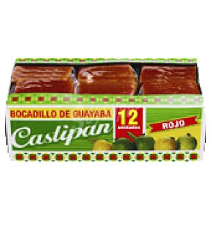 Castipán Bocadillo guayaba rojo 480 g
