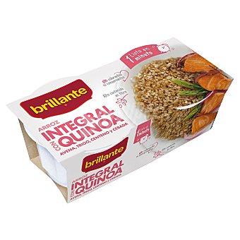 Brillante Arroz integral con quinoa 2x125 g