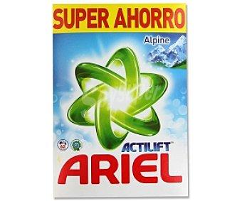 ARIEL Alpes Detergente lavadora en polvo 63 Dosis