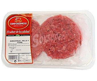 BURGER Meat Pollo y Cerdo 400 Gramos