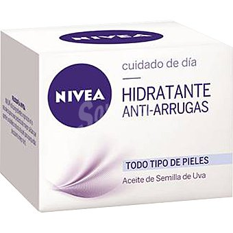 Nivea Cuidado de dia hidratante anti-arrugas para todo tipo de piel Tarro 50 ml