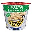Menú pasta carbonara Vaso 101 g Yatekomo Gallina Blanca