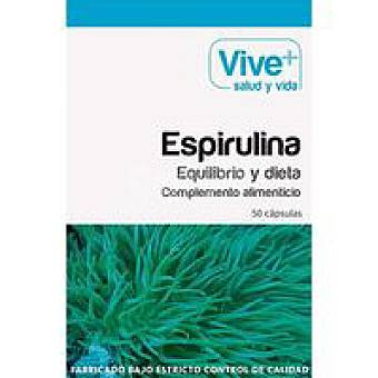 VIVE+ Espirulina 50 u