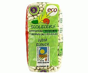 Ecolecera Judías blancas procedentes de agricultura ecológica 500 gramos