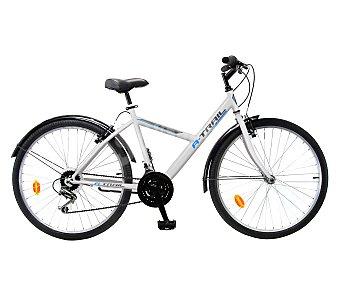 TNT Bicicleta de montaña y ciudad polivalente modelo a-trail, cuadro de acero , frenos V-brake, 18 velocidades 1 unidad