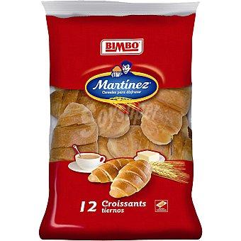 Martínez Bimbo Croissants bolsa 300 g 12 unidades