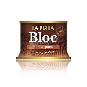 La Piara Bloc, paté de pato Lata 145 g