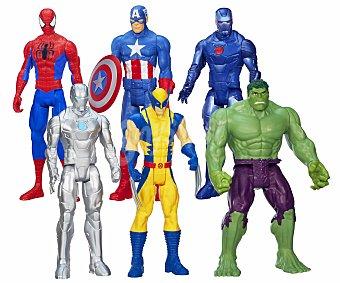 Marvel Conjunto de Figuras Artículadas de Superhéroes de 30 Centímetros 1 Unidad
