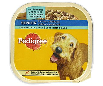Pedigree Pedigree tarrina senior 300 gr