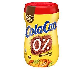 Cola Cao 0% azúcares añadidos con cacao natural Bote 700 g