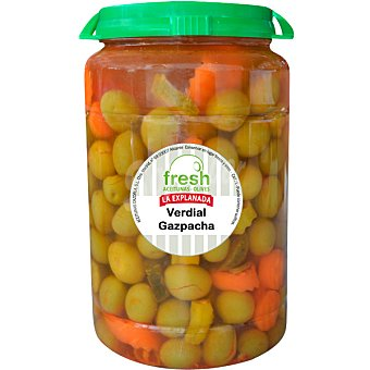 La Explanada Aceituna verdial aliño gazpacha Fresh Envase 800 g