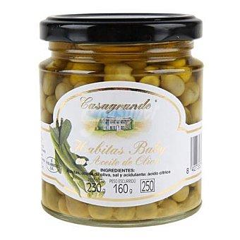 Casagrande Habitas baby en aceite de oliva frasco 160 g