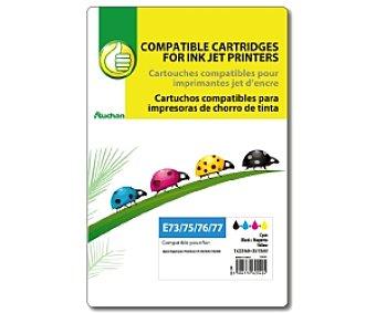 Productos Económicos Alcampo Multipack 4 Colores Epson T26XL (E73/75/76/77) - Compatible con impresoras: XP 600 / 605 / 700 / 800