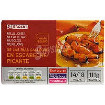 Eroski Mejillon picante 69g