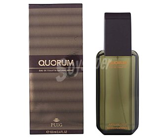 PUIG QUORUM Colonia para hombre con vaporizador en spray 100 ml