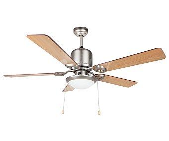 Orbegozo Ventilador de techo, 5 aspas reversibles, 3 velocidades, diámetro 132cm, 1 luz CP 61132