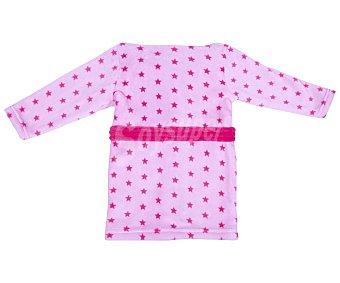 Disney Bata de bebe Minnie, color rosa, talla 80