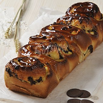Carrefour Brioche rectangular crema y chocolate 500 g