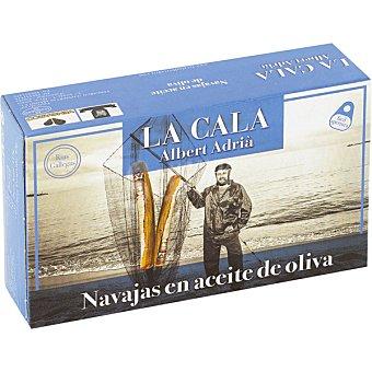 LA CALA ALBERT ADRIA Navajas en aceite de oliva Lata 65 g neto escurrido
