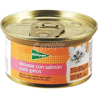 El Corte Inglés Mousse con salmón para gato Lata 85 g