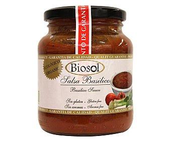 SENSADE Salsa basilico ecológico Tarro de 350 gramos