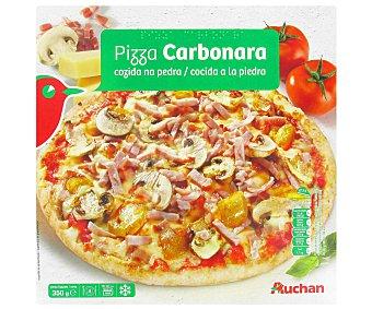 PRODUCTO ALCAMPO Pizza carbonara ultracongelada, cocida a la piedra 350 g