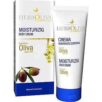 HERBOLIVA Crema corporal hidratante de aceite de oliva virgen extra Tubo 100 ml