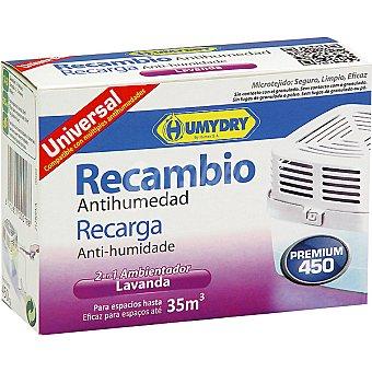 Humydry Antihumedad perfumado recambio Caja 450 g