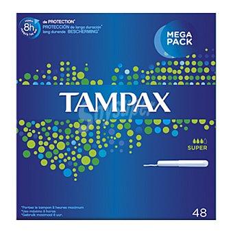 Tampax Tampón super 48 ud