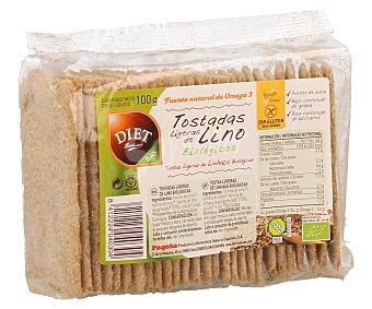 Diet Rádisson Tostadas Ligeras de Lino Bio Diet Rádisson 100 g