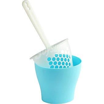 UNITED PETS pala higiénica con contenedor para arena de gato color azul  1 unidad