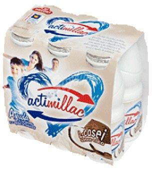 Actimillac Yogur líquido coco Pack de 6x105 g