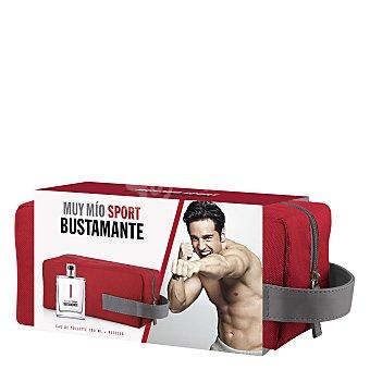 Bustamante Estuche Muy Mío sport colonia 100 ml + neceser 1 ud