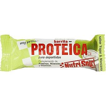 Nutrisport Barrita proteica sabor yogur y manzana Envase 44 g