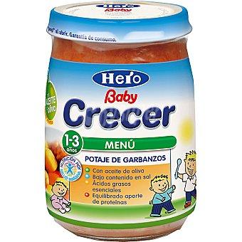Hero Baby Tarrito potaje de garbanzos Crecer Envase 300 g