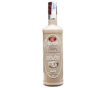 Lial Licor de crema de turrón con alcohol Botella de 70 cl