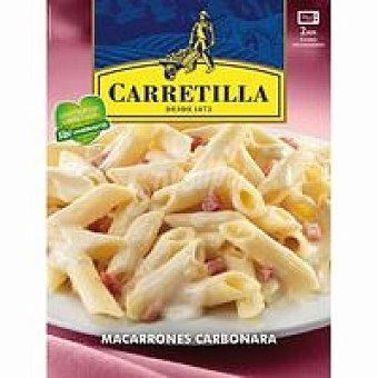 Carretilla Macarrones a la carbonara Bandeja 325 g