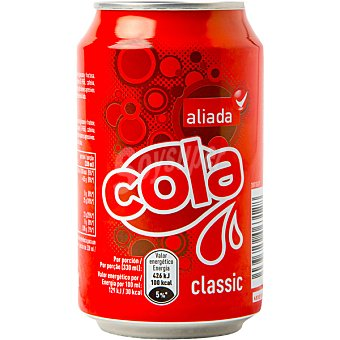 ALIADA refresco de cola lata 33 cl
