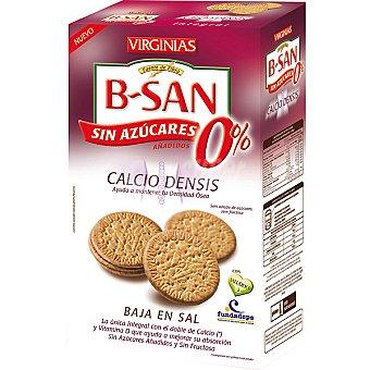 VIRGINIAS B-SAN Galletas 0% azúcar enriquecidas con calcio Caja 360 g