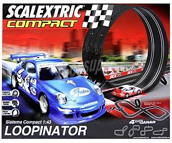 SCALEXTRIC Circuito de Carreras Compact Loopinator 1 Unidad