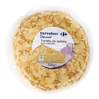 Carrefour Discount Tortilla de patata con cebolla 1 ud