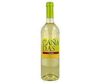 Cañadas Vino blanco verdejo de mesa Botella de 75 cl