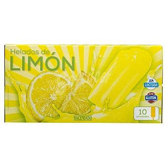 Hacendado Helado palo hielo limón Pack 10 x  75 ml