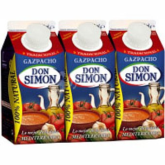 Don Simón Gazpacho natural Pack 3x330 ml