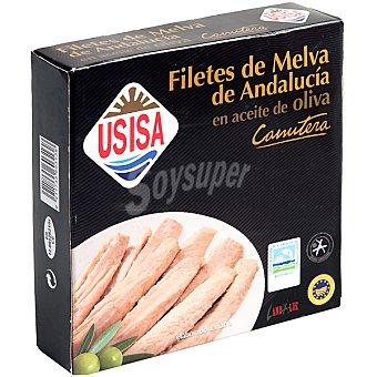 Usisa Filetes de melva canutera de Andalucía en aceite de oliva Lata 160 g neto escurrido