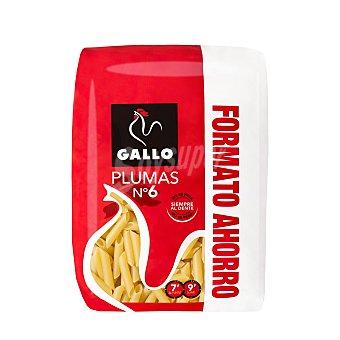 Gallo macarrones pluma formato ahorro paquete 750 g