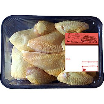 Pollo Amarillo Entero en Octavos - Peso Aproximado Bandeja 1,5 kg